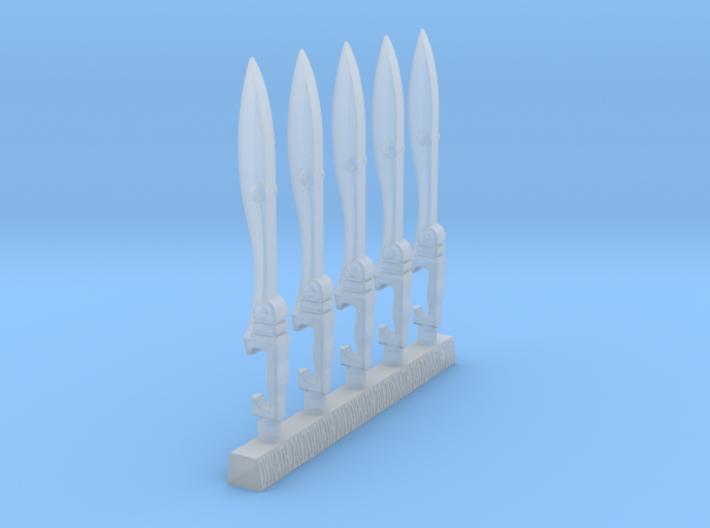 Techno-Kopis (x5) 3d printed