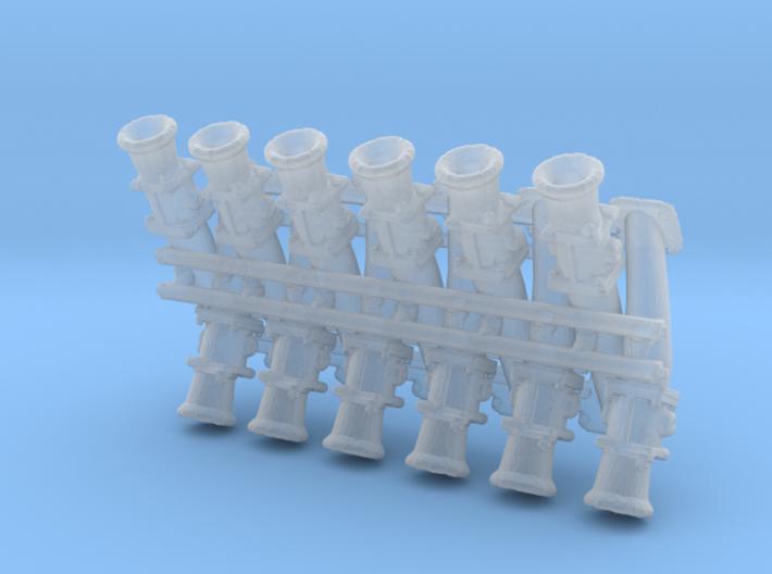 LS3 1/24 OBX crossram V12 3d printed