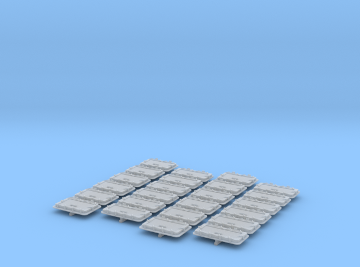 1/96 WW1 Royal Navy Water Tight Doors x24 2 Sizes 3d printed 1/96 WW1 Royal Navy Water Tight Doors x24