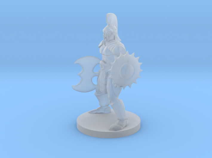 Half Orc Gladiator 3d printed