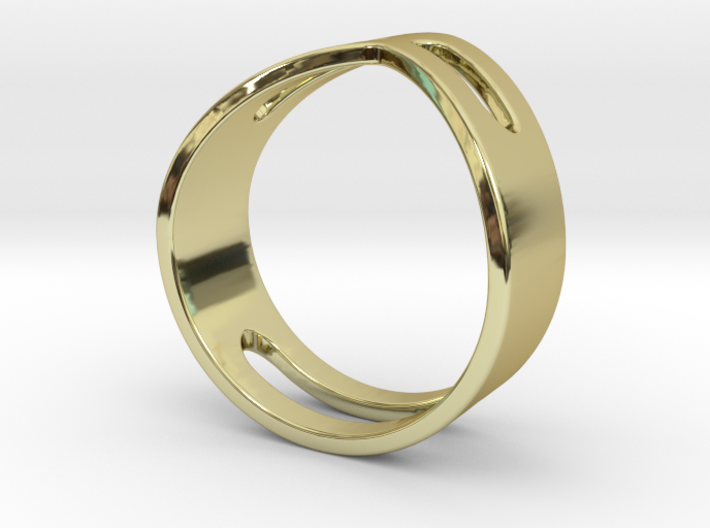 STUDIO PAULBAUT LOGO Ring (Size 5) 3d printed