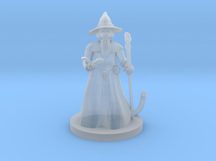 Catfolk Wizard 3d printed
