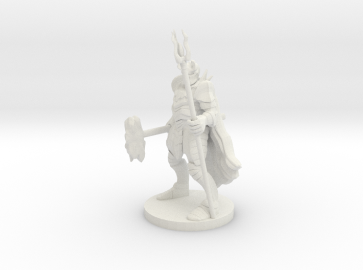 Heavy Fighter/Mage 3d printed