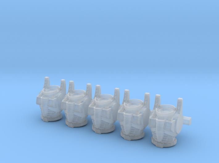Decepticon Seeker Torsos MK2 001a 3d printed