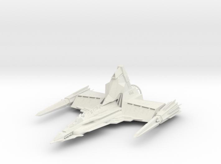 Draconian Marauder From Buck Rogers big 3d printed