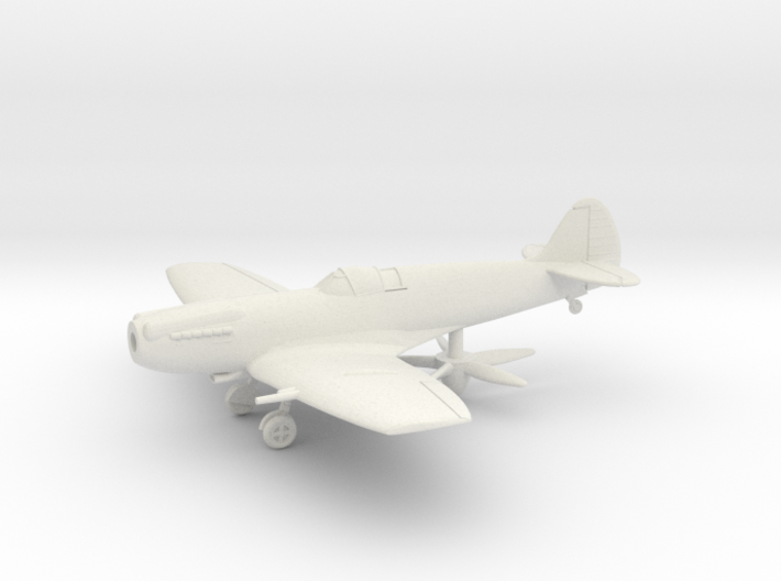 "Spitfire LF Mk XIVE ""high back"" 3d printed"