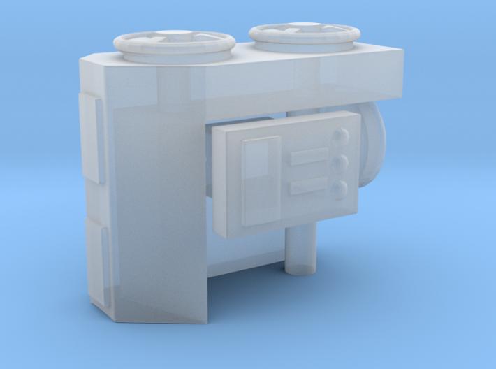 1/144 USN Crane Control Wheel 3d printed