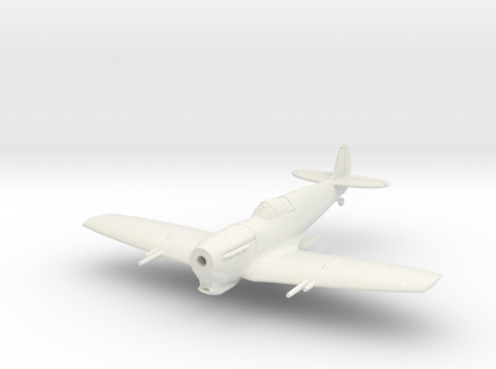 Spitfire LF Vc Tropical, Flying 3d printed