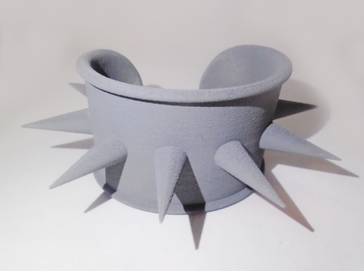 Spike Cosplay Cuff 3d printed First print after priming