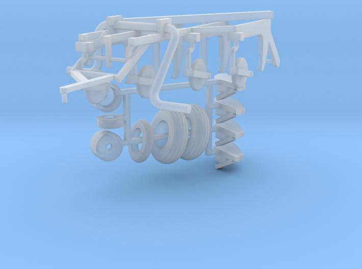 187 4 bottom pull type plow kit 3d printed