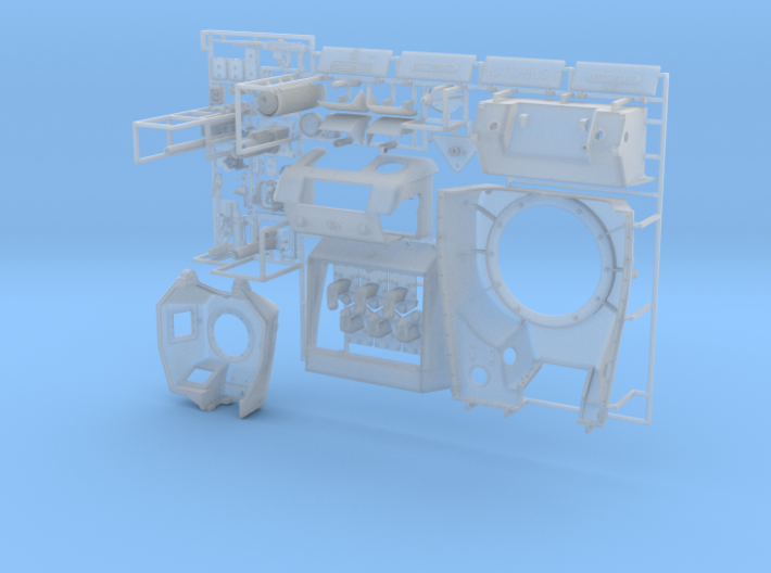ETS32X01 - Hotchkiss H39 - Set 2B 3d printed