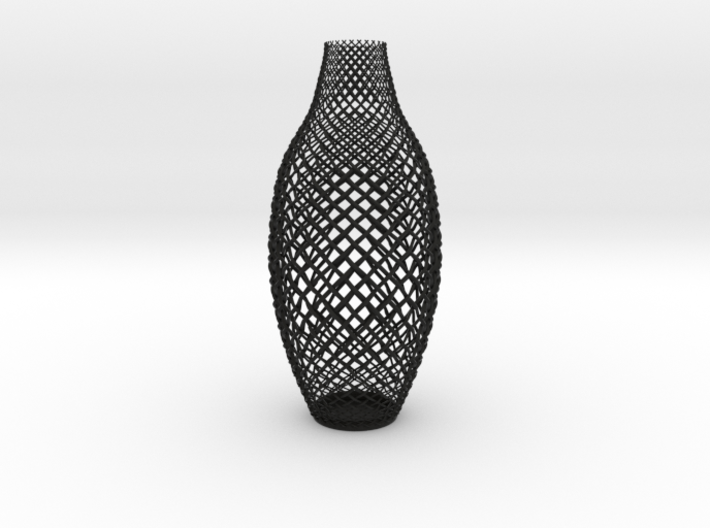 Braided Vase 3d printed