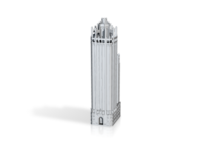 Tribune Tower (1:1200 Scale) 3d printed