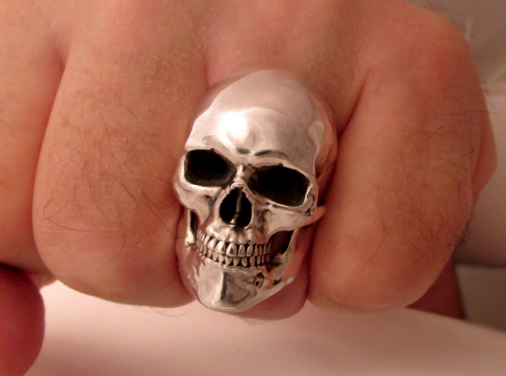 Mammoth Skull Ring! 3d printed