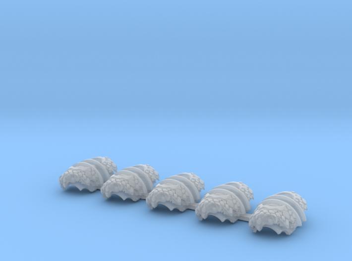 5x Dragon Scale = Cataphractii Shoulder Sets 3d printed