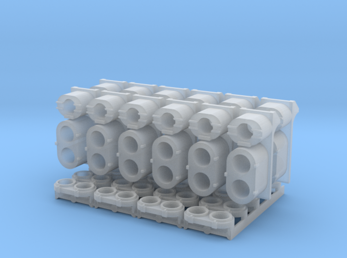 SP Early Light Cluster Combo Pack (N - 1:160) 12X 3d printed