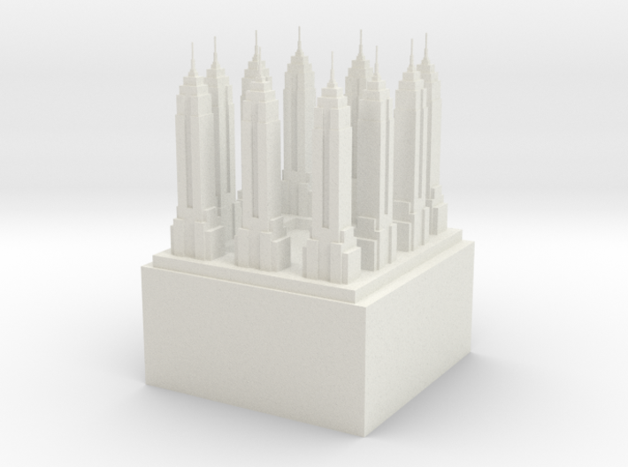 "Q-09: ""Queens Apartment Building"" by Office Kovacs 3d printed"