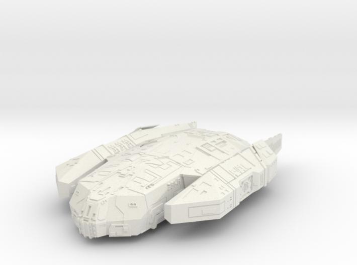 """Kushan """"Resolute"""" Corvette 3d printed"""