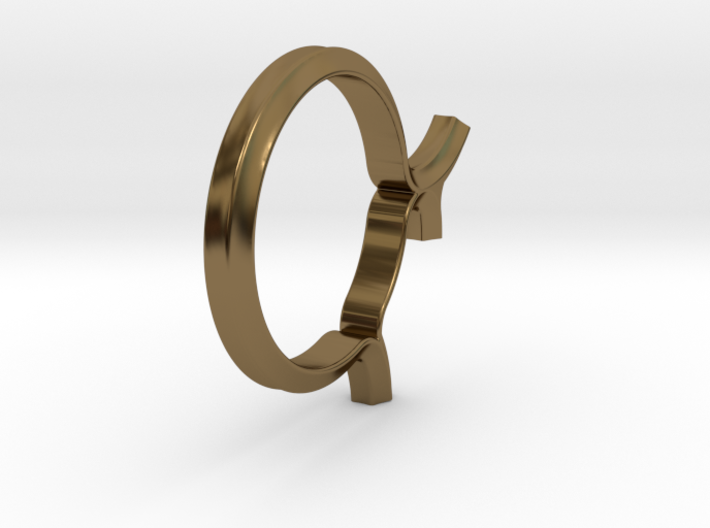 Shapesweeper Hexagon Fullgrown Ring 3d printed