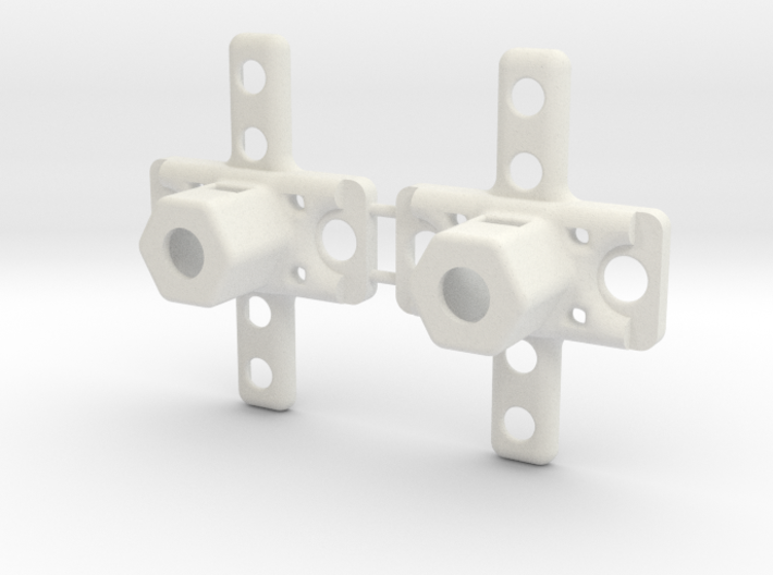 1 Set of 2 truck pivots 3d printed