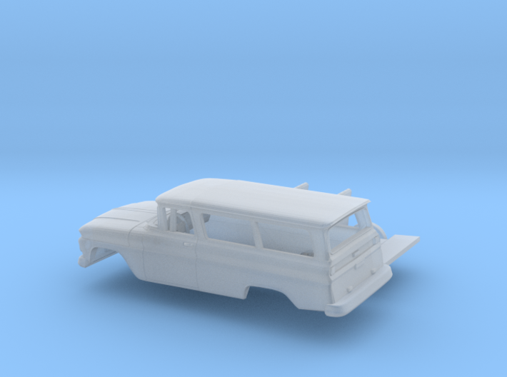 1/160 1962 Chevrolet Suburban Kit 3d printed