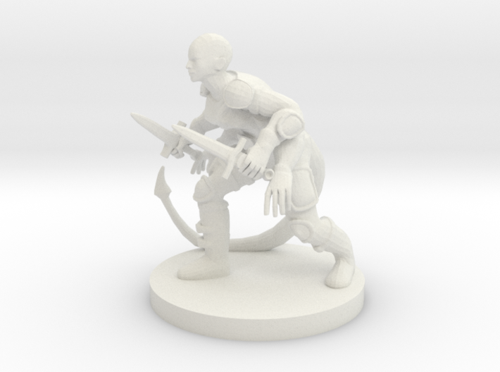 Rogue With Four Arms 3d printed