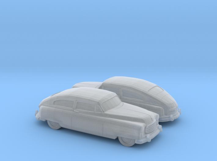 1/120 2X 1949-50 Nash Ambassador Coupe 3d printed