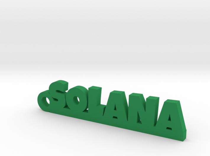 SOLANA_keychain_Lucky 3d printed