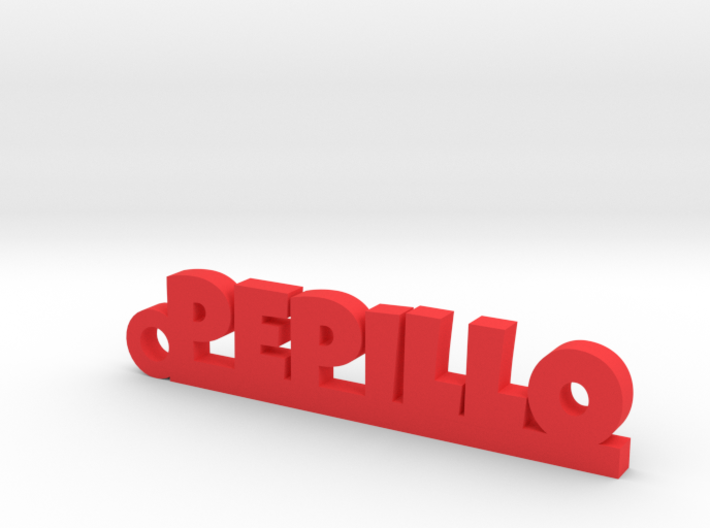 PEPILLO_keychain_Lucky 3d printed