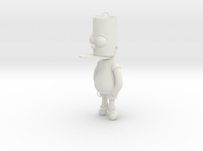 Bart Simpson Bait 3d printed