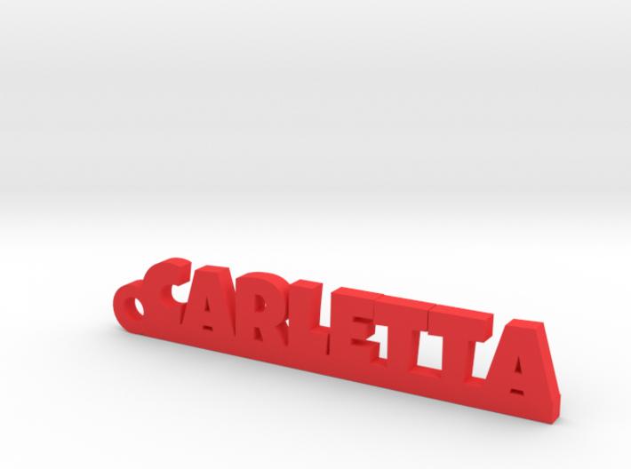 CARLETTA_keychain_Lucky 3d printed