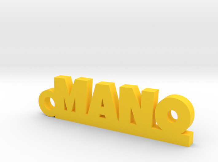 MANO_keychain_Lucky 3d printed