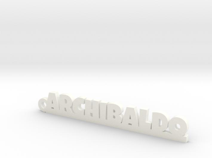 ARCHIBALDO_keychain_Lucky 3d printed