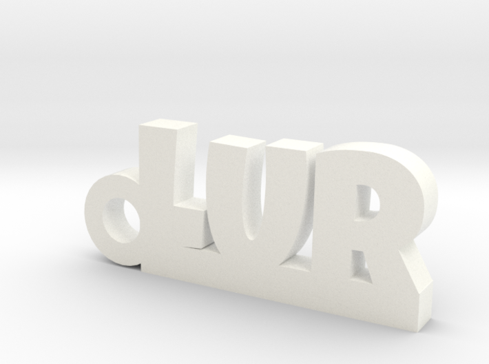 LUR_keychain_Lucky 3d printed