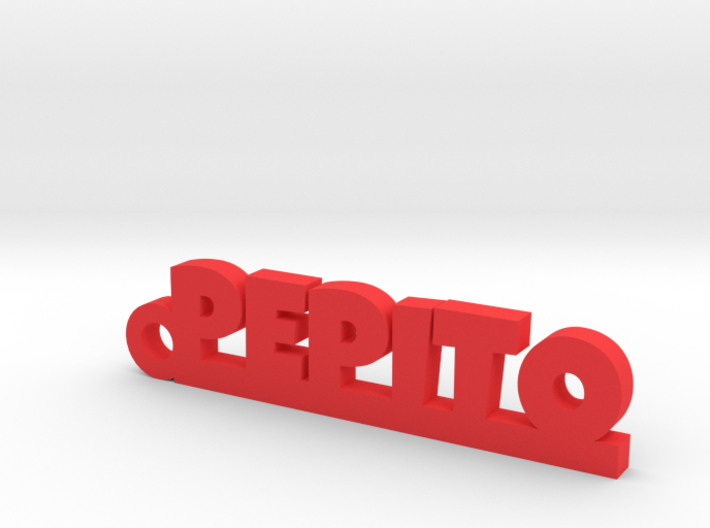 PEPITO_keychain_Lucky 3d printed