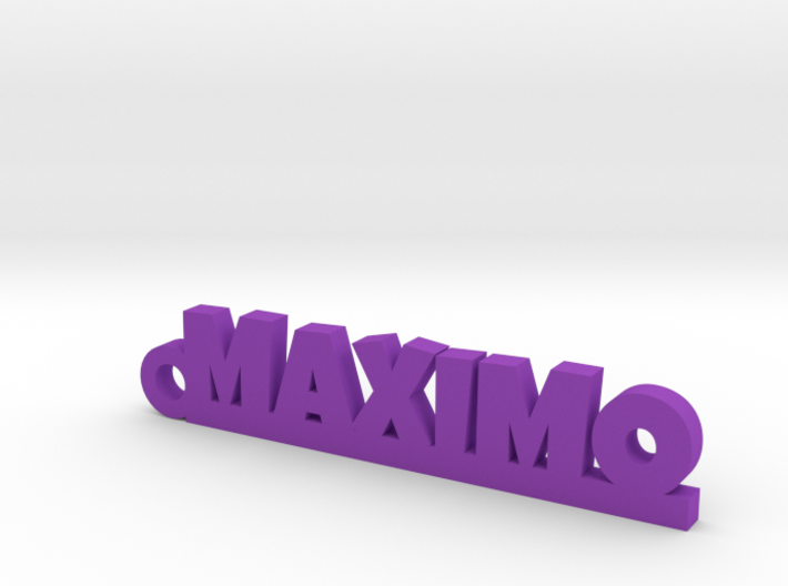 MAXIMO_keychain_Lucky 3d printed