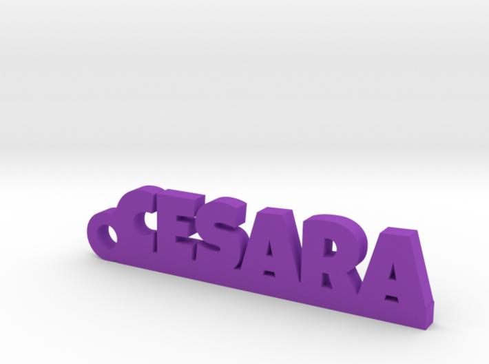 CESARA_keychain_Lucky 3d printed
