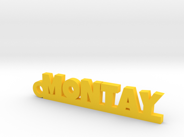 MONTAY_keychain_Lucky 3d printed