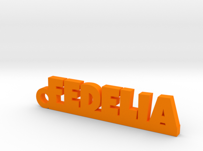 FEDELIA_keychain_Lucky 3d printed