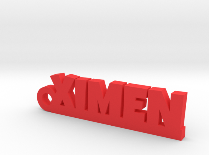 XIMEN_keychain_Lucky 3d printed