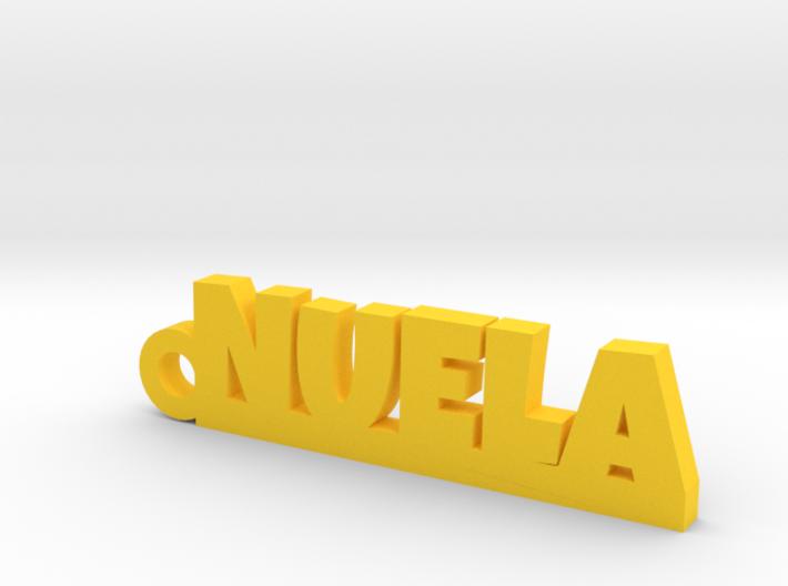 NUELA_keychain_Lucky 3d printed