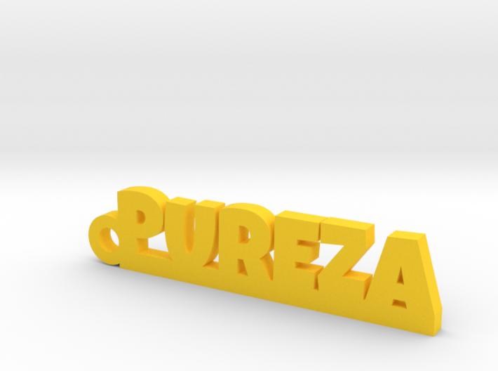 PUREZA_keychain_Lucky 3d printed