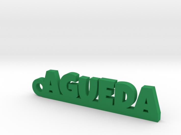 AGUEDA_keychain_Lucky 3d printed