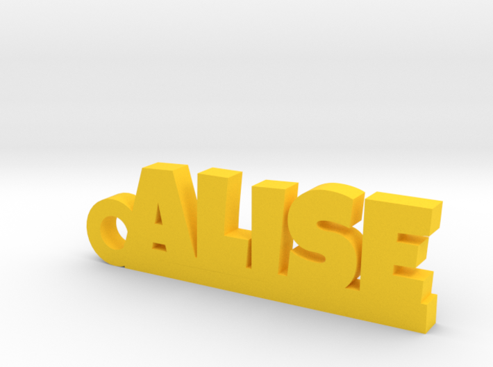 ALISE_keychain_Lucky 3d printed