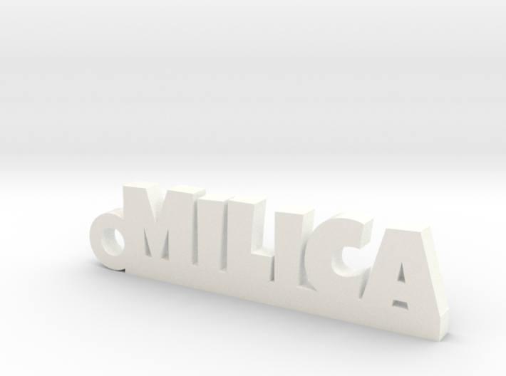 MILICA_keychain_Lucky 3d printed