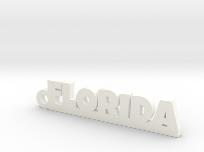 FLORIDA_keychain_Lucky 3d printed