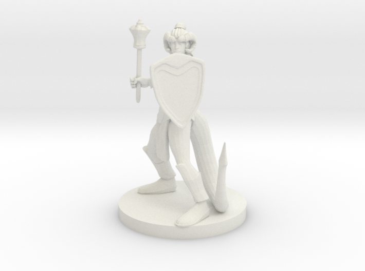 Tiefling Female Cleric 3d printed