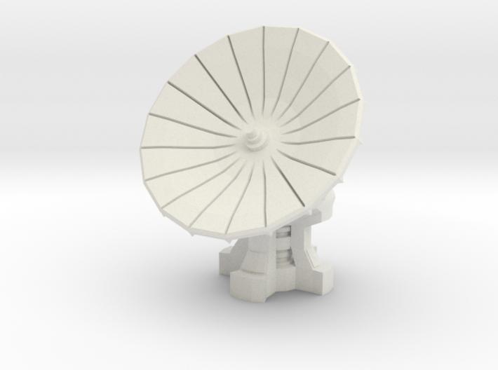 1/87 Scale Com-Satellite Array 3d printed