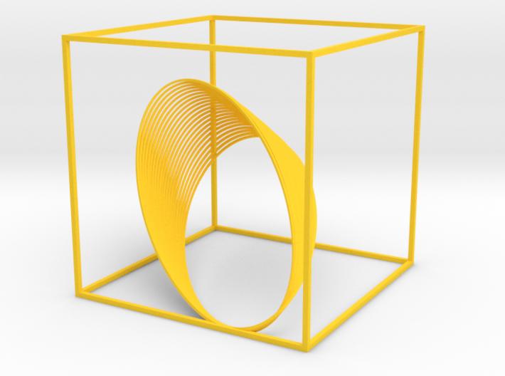 Cassini Grand Finale - cube 3d printed