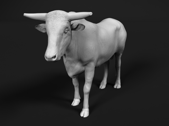 ABBI 1:87 Yearling Bull 2 3d printed